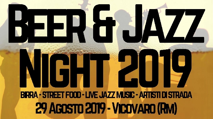 Beer and Jazz Night 2019
