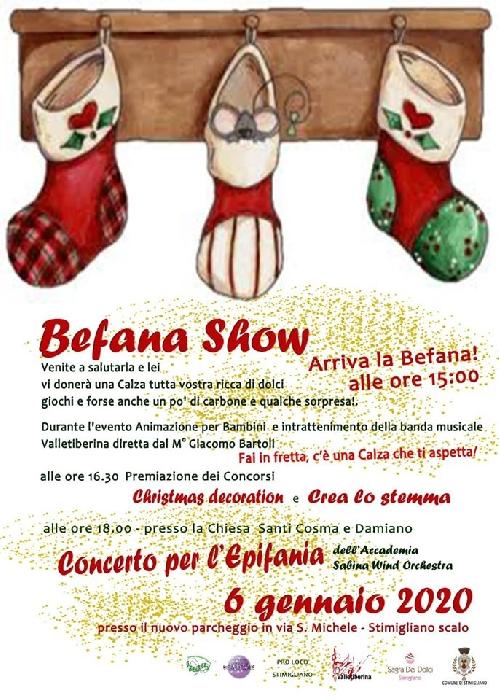 06/01 - Stimigliano Scalo (RI) - Befana Show