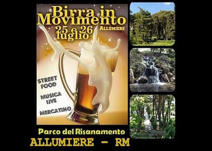 25 e 25 luglio - Parco del Risanamento - Allumiere (RM) - Birra in Movimento
