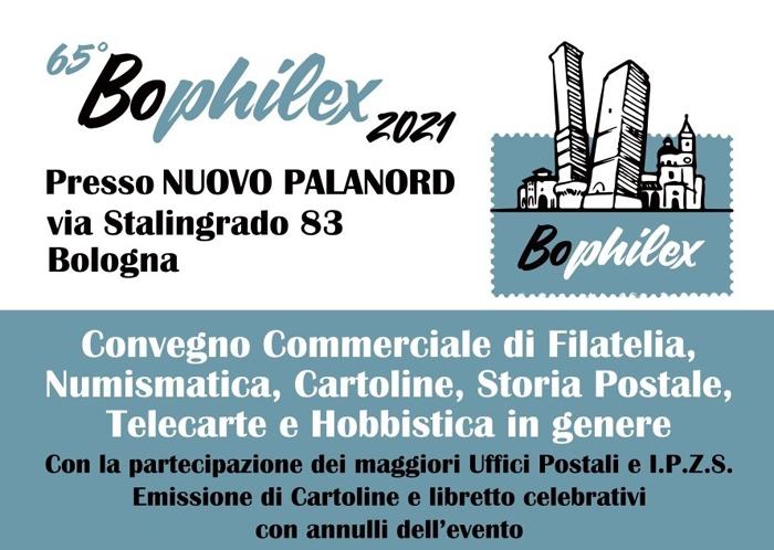29 e 30 Ottobre - Nuovo Palanord - Bologna - 65° Bophilex 2021