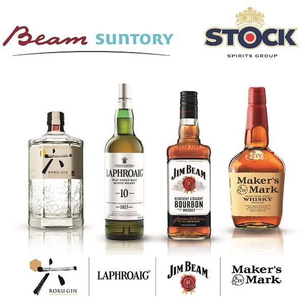 STOCK SPIRITS NUOVO DISTRIBUTORE IN ITALIA PER BEAM SUNTORY - Marchi come Jim Beam, Laphroaig, Maker