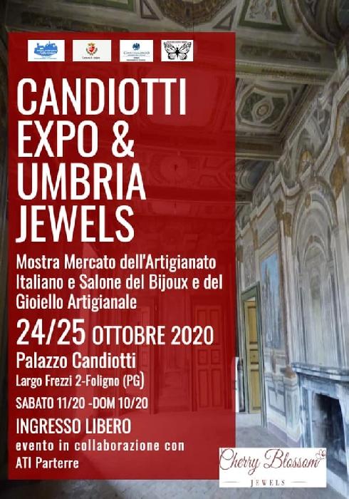 24 e 25 Ottobre - Palazzo Candiotti - Foligno (PG) - Candiotti Expo e Umbria Jewels