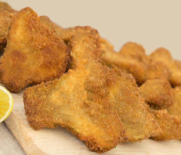 Carciofi fritti a cotoletta