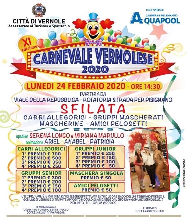 24/02 - Vernole (LE) - Carnevale Vernolese 2020