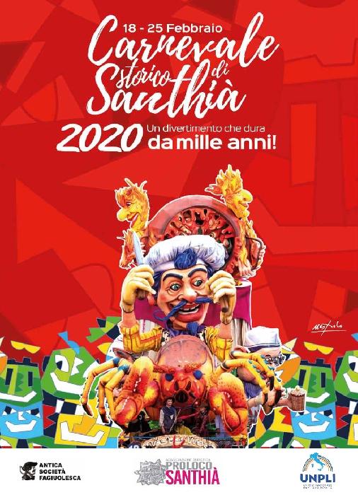 Dal 18 al 25 Febbraio - Santhià (VC) - Carnevale Storica di Santhià
