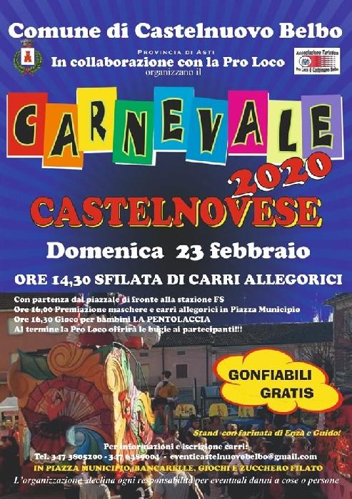 23/02 - Castelnuovo Belbo (AT) - Carnevale