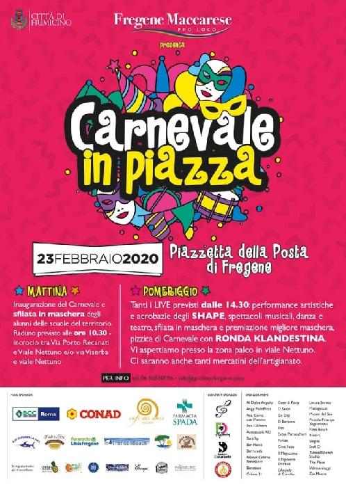 23/02 - Fregene - Fiumicino (RM) - Carnevale in Piazza