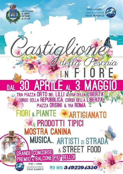 Dal 30 Aprile al 3 Maggio - Castiglione della Pescaia (GR) - Castiglione della Pescaia in Fiore