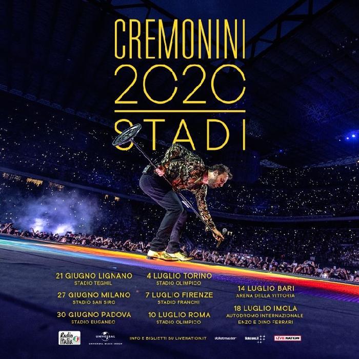 Cesare Cremonini - Manifesto Tour 2020