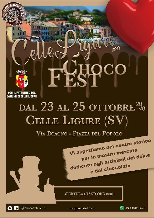 Dal 23 al 25 Ottobre - Celle Ligure (SV) - Choco Fest