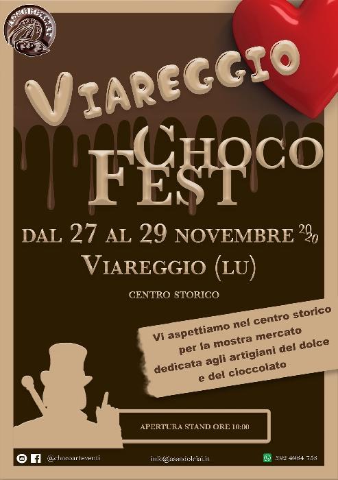 Dal 27 al 29 Novembre - Centro Storico - Viareggio (LU) - Choco Fest