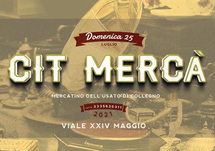 25/07 - Viale XXIV Maggio - Collegno (TO) - Cit Mercà - Mercatino dell