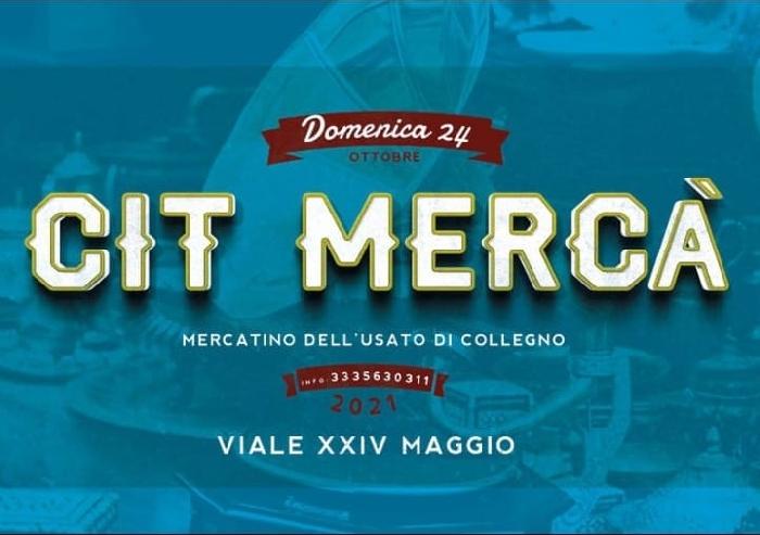24/10 - Viale XXIV Maggio - Collegno (TO) - Cit Mercà - Mercatino dell