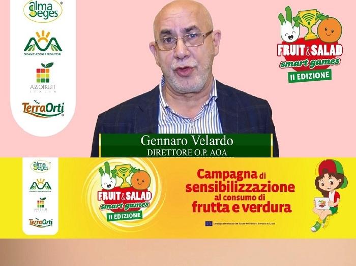 Con Gennaro Velardo a Fruit and Salad Smart Games si parla di prodotti biologici