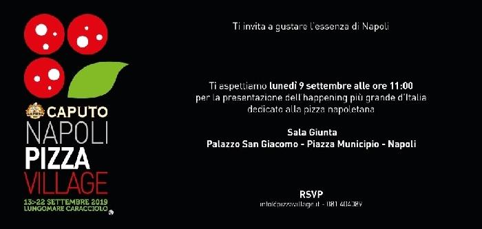 Conferenza Stampa di presentazione del Napoli Pizza Village