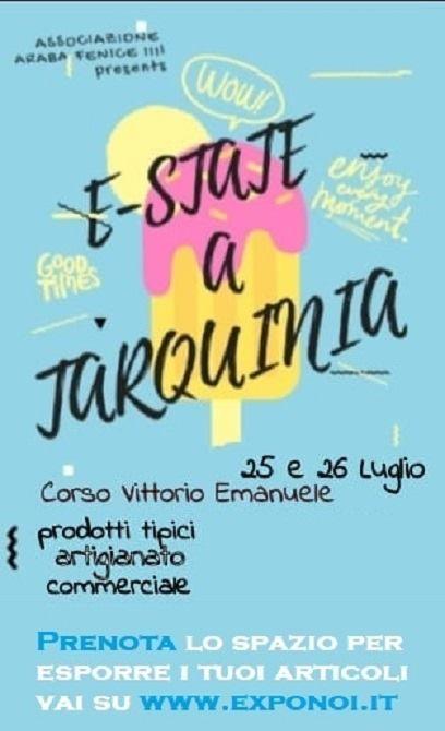 25 e 26 luglio - Corso Vittorio Emanuele - Tarquinia (VT) - E-state a Tarquinia