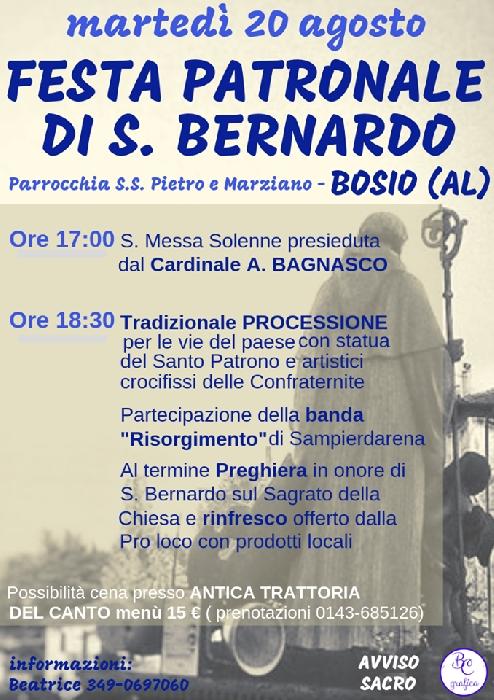 Festa Patronale di San Bernardo
