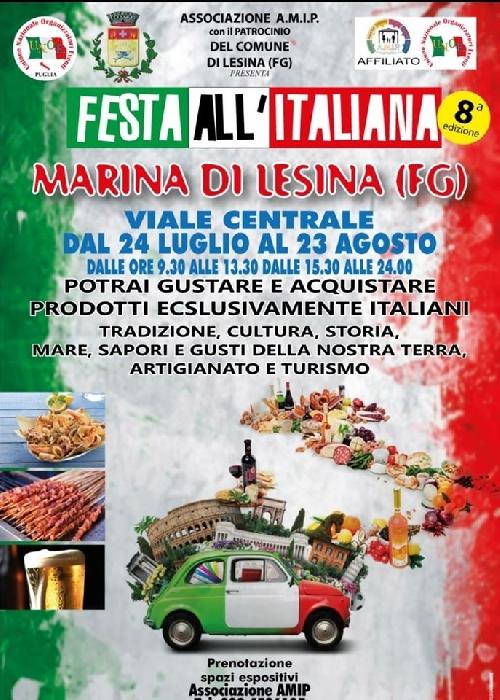 Dal 24 luglio al 23 agosto - Viale centrale - Marina di Lesina (FG) - Festa all