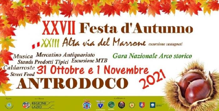 31/10 e 01/11 - Antrodoco (RI) - Festa d