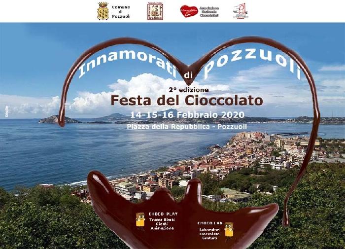 Dal 14 al 16 Febbraio - Piazza della Repubblica - Pozzuoli (NA) - Festa del Cioccolato II Edizione