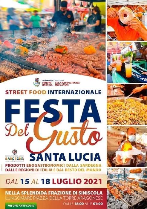 Dal 15 al 18 Luglio - Santa Lucia - Siniscola (NU) - Festa del Gusto
