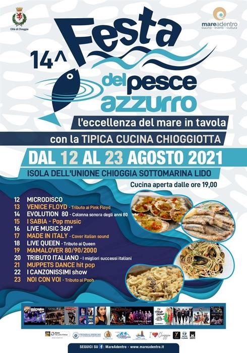 Dal 12 al 23 Agosto - Chioggia (VE) - 14ª Festa del Pesce Azzurro