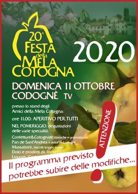 11/10 - Codognè (TV) - 20ª Festa della Mela Cotogna