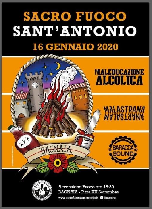 16 e 17 Gennaio - Bagnaia - Viterbo - Festa di Sant