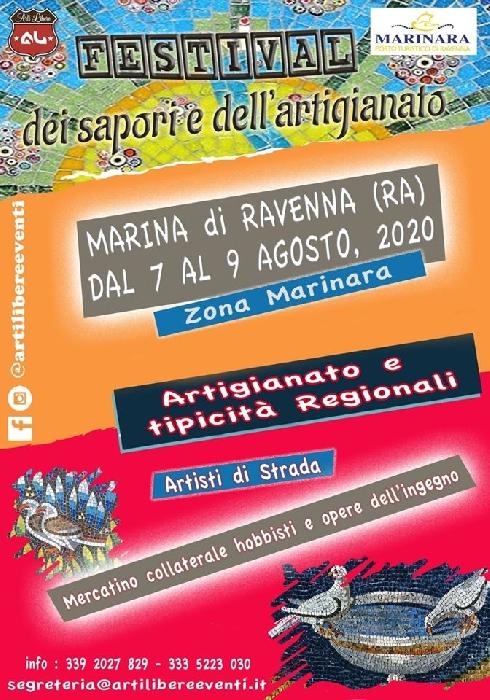 Dal 7 al 9 Agosto - Marina di Ravenna (RA) - Festival dei Sapori e dell