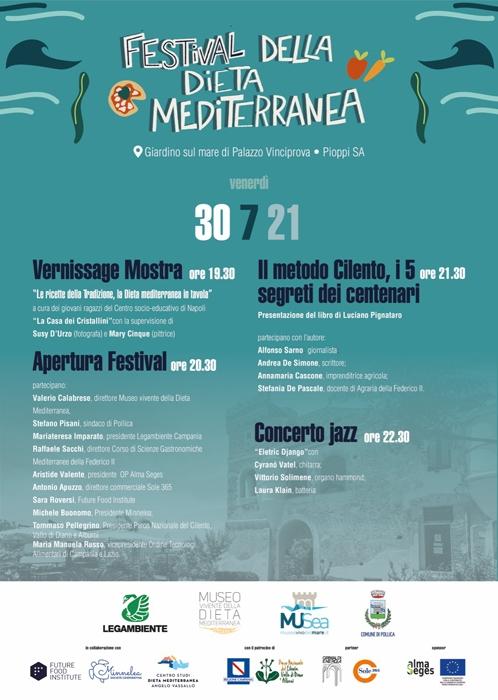 30/07 - Palazzo Vinciprova - Pioppi (SA) - Festival della Dieta Mediterranea