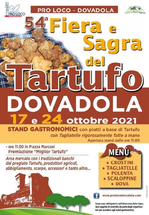 24 ottobre - Dovadola (FC) - Fiera e Sagra del tartufo
