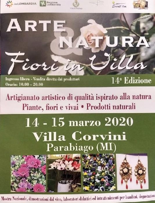 Dal 13 al 15 Marzo - Villa Corvini - Parabiago (MI) - Fiori in Villa