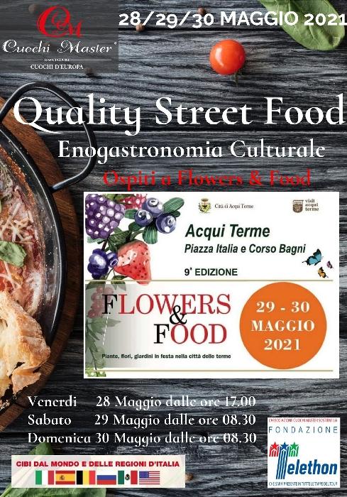 Dal 28 al 30 maggio - Acqui Terme (AL) - Flowers and Food
