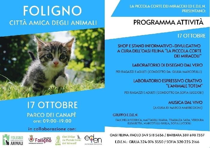 17/10 - Parco del Canapè - Foligno (PG) - Foligno città amica degli animali