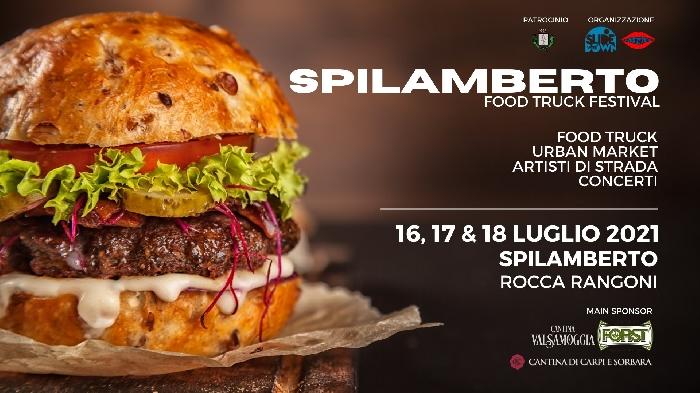 Dal 16 al 18 Luglio - Rocca Rangoni - Spilamberto (PN) - Food Truck Festival