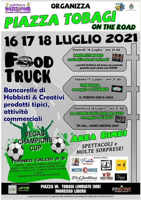 Dal 16 al 18 Luglio - Piazza Tobagi - Limbiate (MB) - Food Truck