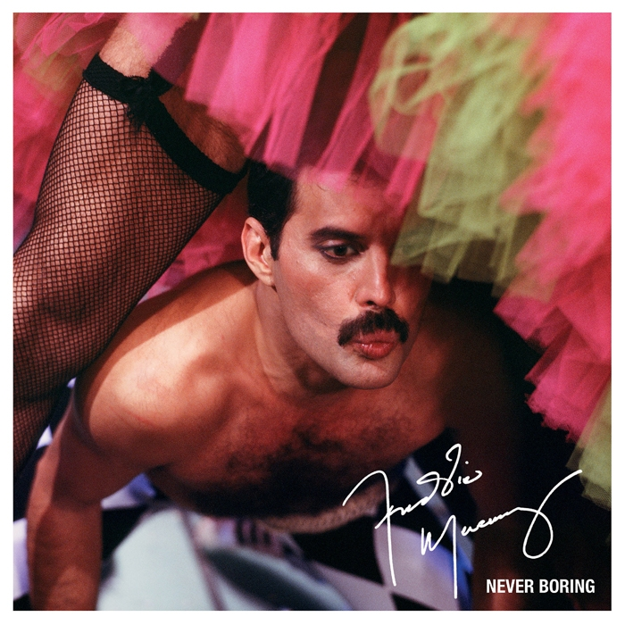 Freddie Mercury - Never Boring Cover Art