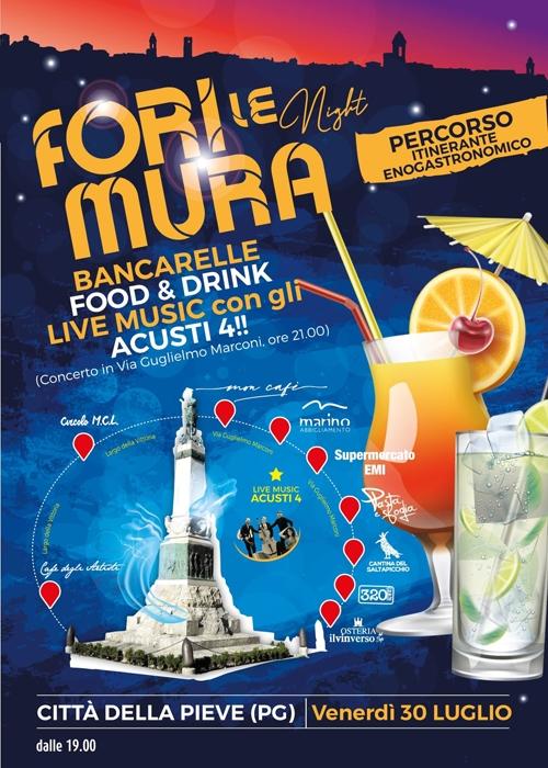 30/07 - Città della Pieve (PG) - Fuori Le Mura Night