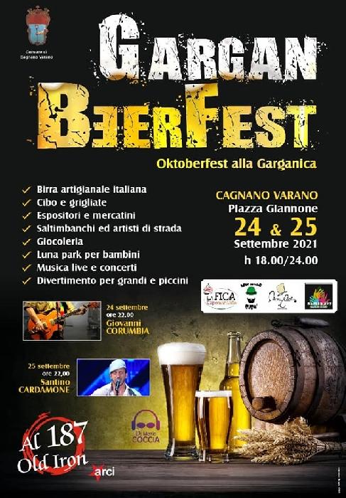 24 e 25 Settembre - Piazza Giannone - Cagnano Varano (FG) - Gargan Beer Fest