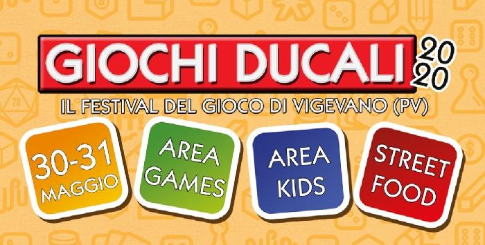 30 e 31 Maggio - Vigevano (PV) - Giochi Ducali 2020, il Festival del Gioco