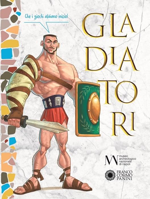 Gladiatori per ragazzi dal 25 marzo in libreria il volume di Franco Cosimo Panini Editore