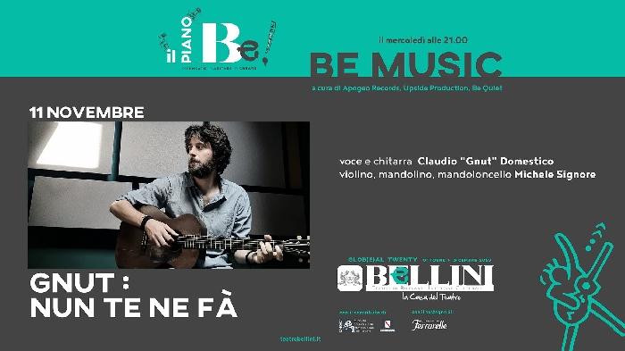 11/11 - Teatro Bellini - Napoli - Gnut: Nun te ne fa