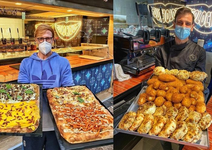 Golocious apre il suo V locale in un anno, al Vomero nasce Pizza in teglia con Vincenzo Falcone e Gian Andrea Squadrilli