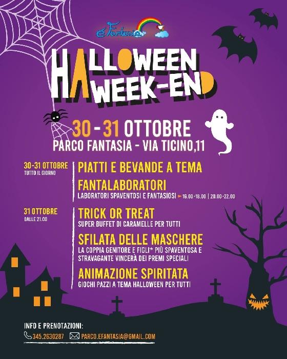 30 e 31 Ottobre - Parco Fantasia - Padova - Halloween Week-End
