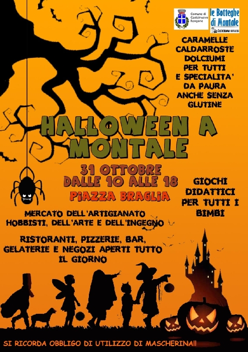 31/10 - Piazza Braglia - Montale (PT) - Halloween a Montale