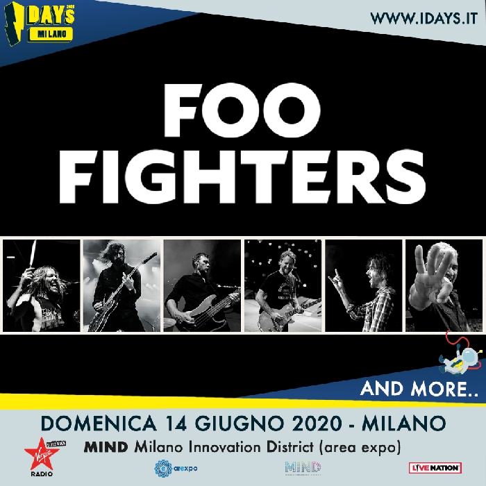 I Foo Fighters all'I-DAYS Milano 2020