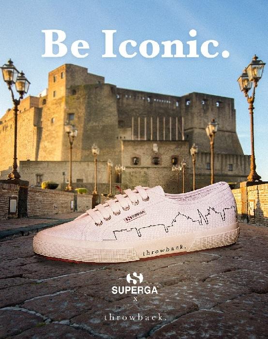 I monumenti di Napoli sulle mitiche Superga, Throwback, il fashion brand di Pasquale D