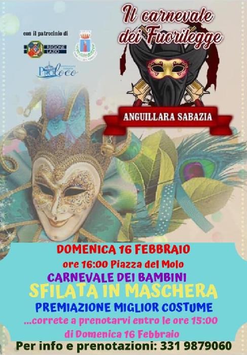16/02 - Anguillara Sabaudia (RM) - Il Carnevale dei Fuorilegge