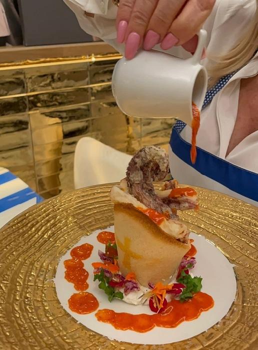Il Miracolo di San Gennaro, nasce un nuovo piatto da A figlia do Marenaro in onore di faccia gialla