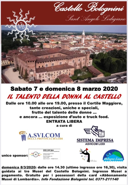 7 e 8 Marzo - Castello Bolognini - Sant